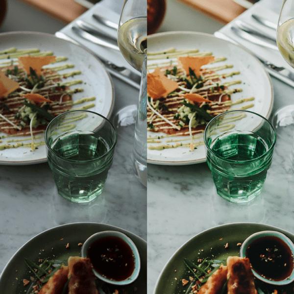 the Social Taste, presets, Food goals