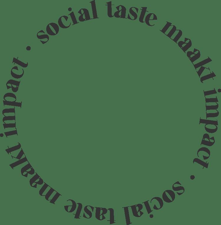 the Social Taste, impact maken