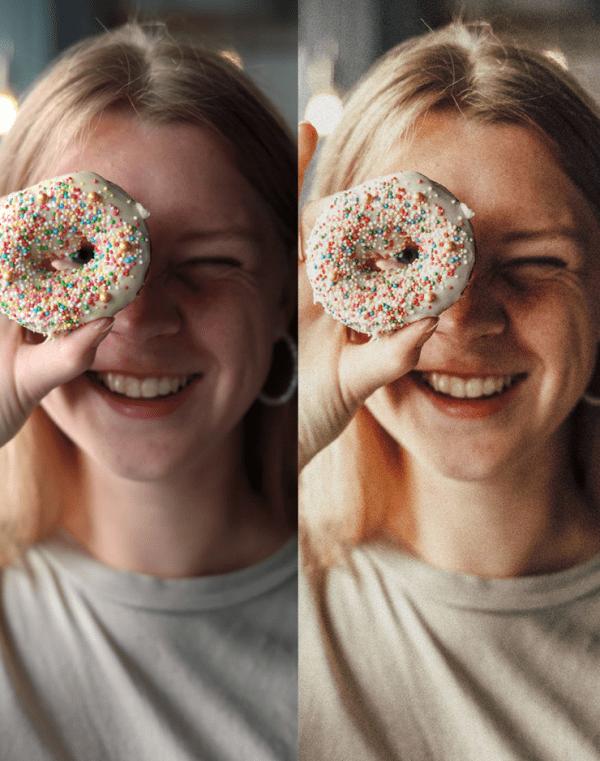 the Social Taste, Preset, Vintage Polaroid