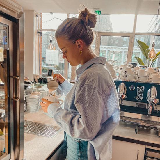 the Social Taste, Gecertificeerd barista